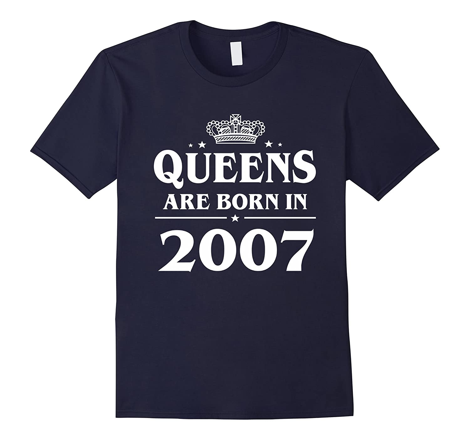 Queens Are Born In 2007 10 Years Old 10th Birthday Gift Idea-CD