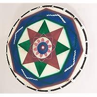 Tamaño mediano tambor Chamánico pintada A