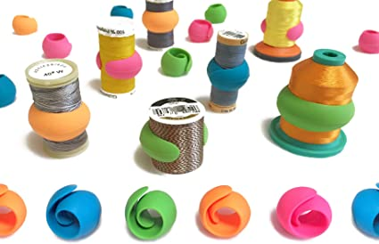 Spool Clamps 100pcs Thread Spool Huggers for Embroidery,Sewing,Quiliting