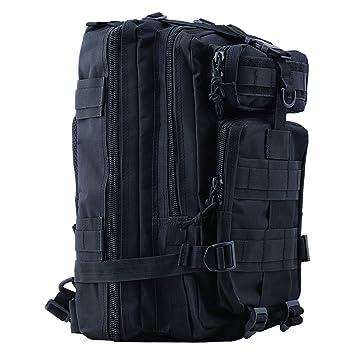 08465f1431c HUKOER Tactical Rucksack - Trekking Backpack 30L Waterproof Outdoor Hunting Shoulder  Bag Hiking Daypack Military Backpack