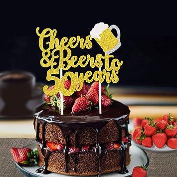 Amazon.com: Faisichocalato - Decoración para tarta de 50 ...