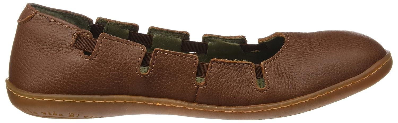 El Schuhe Naturalista Damen N5272 Soft Grain Viajero Schuhe El mit Plattform Braun (Wood) 0e31c1