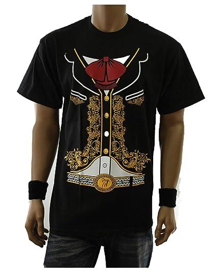 8f24df99296 90210 Wholesale Spanish Graphic T-Shirt Charro Mariachi Mexican Costume  Printed Urban Tee (S