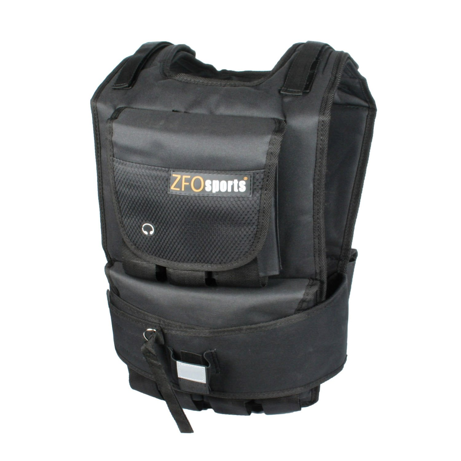 ZFOsports Weighted Vest 40lbs/60lbs/80lbs (60lbs) by ZFOsports (Image #1)