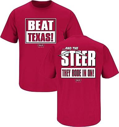 or Sticker Anti-Longhorns Dont Be A D!ck Oklahoma Football Fans Cardinal T-Shirt Sm-5X