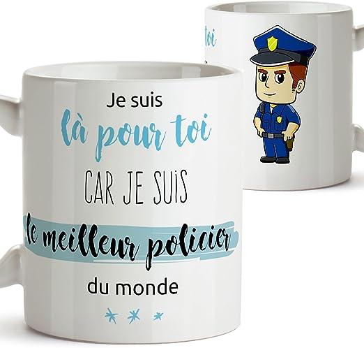 Tasse pour Un Policier - Je suis là pour toi Car Je