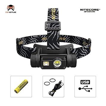 Nitecore Hc65 Lampe Frontale Rechargeable Usb Puissante 1000 Lumen 3