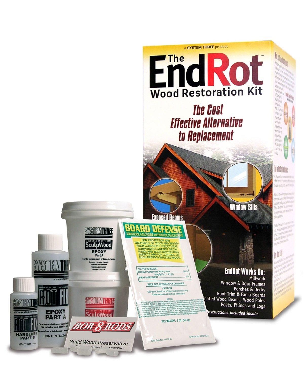 System Three Resins 646697001380 Window and Door Rot Repair Kit