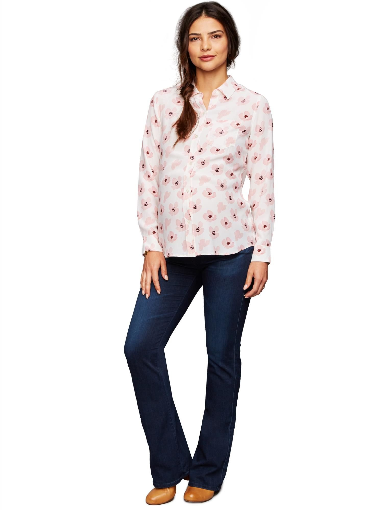 Ag Secret Fit Belly Boot Cut Maternity Jeans