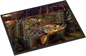Caroline's Treasures JMA2004JMAT Grove Garden Snook Indoor or Outdoor Mat 24x36, 24H X 36W, Multicolor