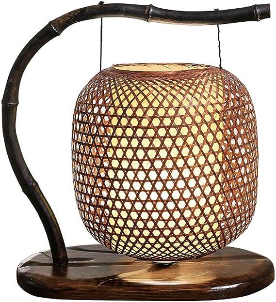 Tisch  & Nachttischlampen Chinesische Gartenlampen Bambus Tischlampe Studie Tischlampe ...