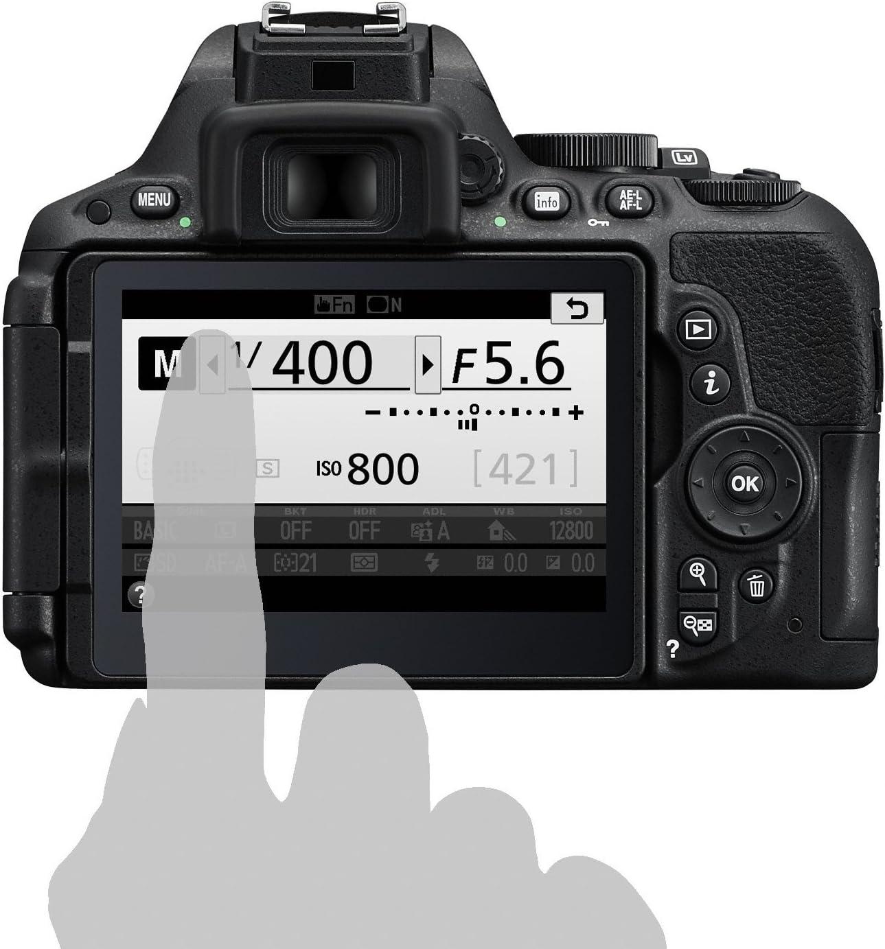 Nikon D5500 - Cámara digital Reflex de 24.2 MP + AFS DX 18-140 mm ...