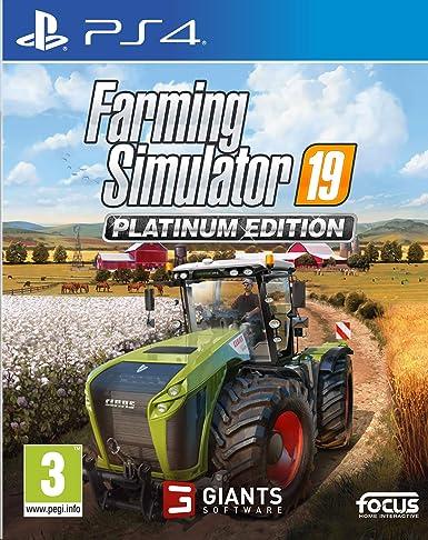 Farming Simulator 19 - Platinum Edition: Amazon.es: Videojuegos
