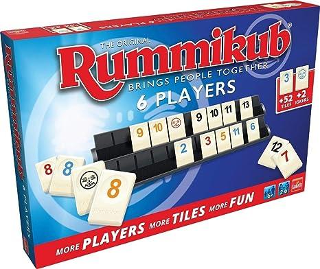 Rummikub Original 6 Jugadores, Multicolor (Goliath 50412): Amazon ...