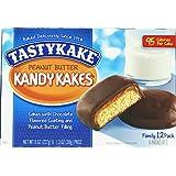 Tastykake Peanut Butter Kandy Kakes - Four Family Packs
