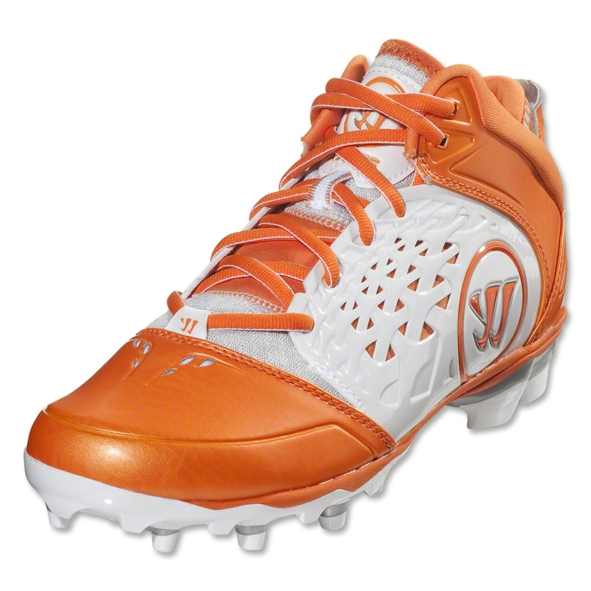 WARRIOR Men's Adonis Lacrosse Cleats - Size: 11.5, Orange
