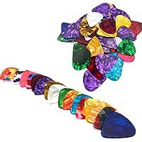 CoWalkers Abstract Art Colorful Guitar Picks, regalo exclusivo de guitarra para bajos, guitarras eléctricas y acústicas…