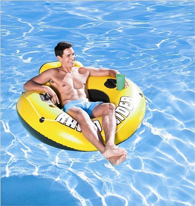 Amazon.com: Lilina - Anillo reclinable flotante inflable ...