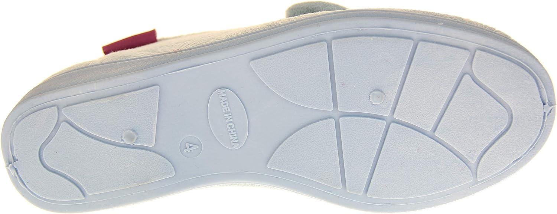 Dunlop Damen Hausschuhe Synthetisches Veloursleder