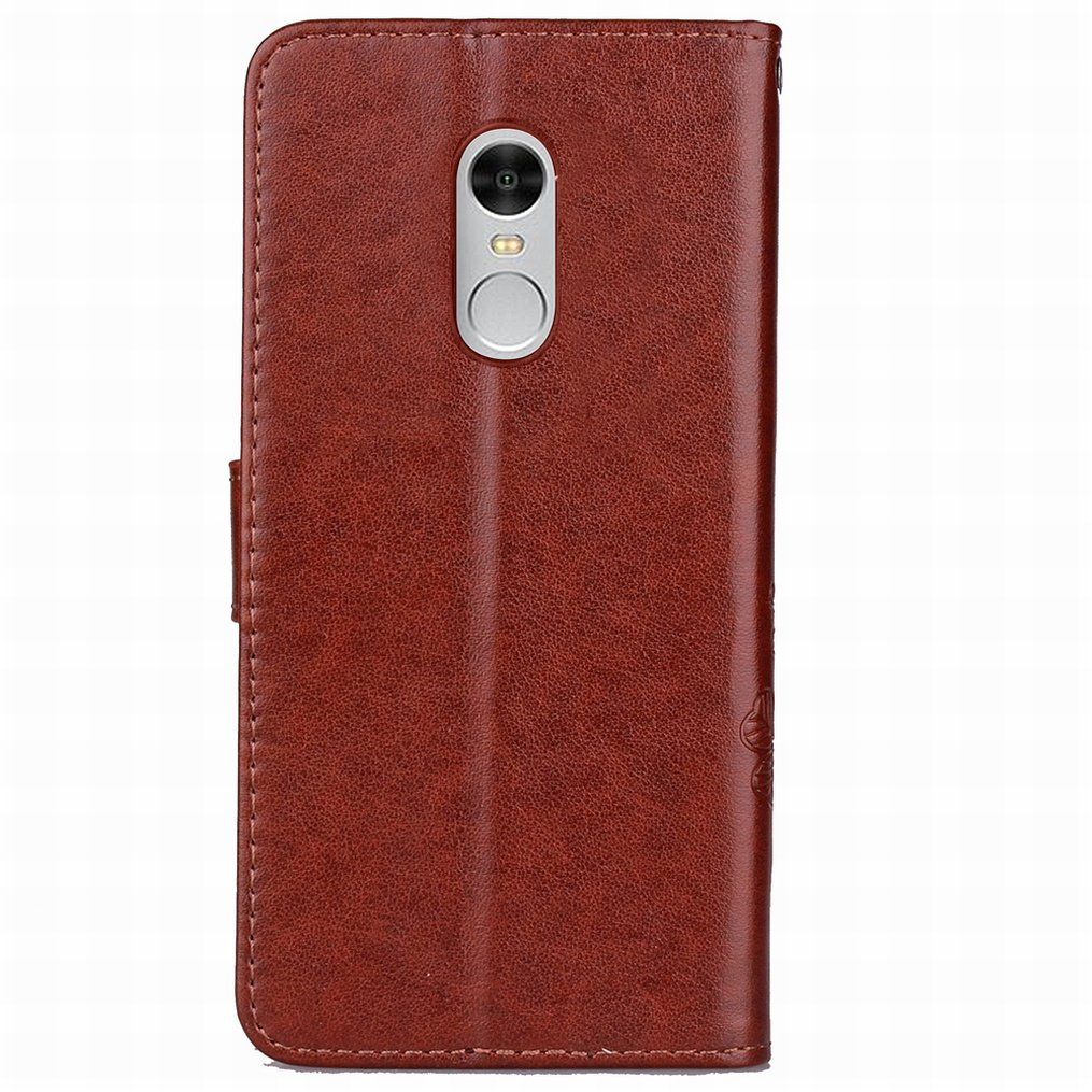 Amazon.com: LEMORRY Xiaomi Redmi Note 4X Case Leather Flip ...