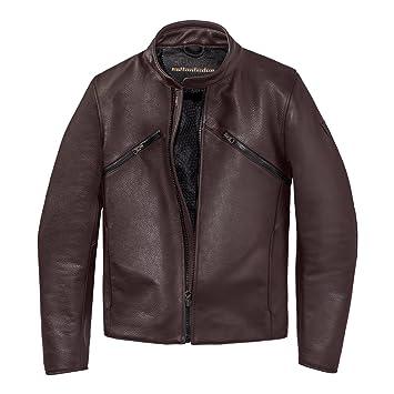 Dainese settantadue prima72 chaqueta para la moto, cuero, color marrón oscuro tamaño 56 Euro