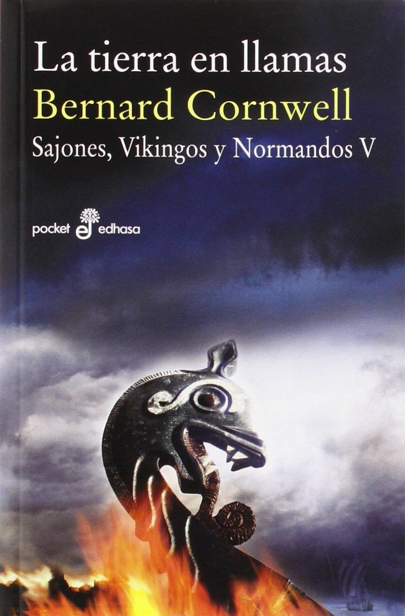 La tierra en llamas V Bolsillo : 500 Pocket edhasa: Amazon.es ...