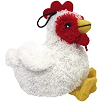 Multipet's Look Who's Talking Plush Chicken 5.5-Inch Dog Toy