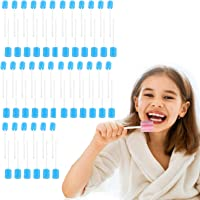 ZHUYIYI 100 Pcs/set Disposable Oral Swabs Stick, Unflavored Dental Swabsticks for Health Care, Portable Tooth Cleaner…