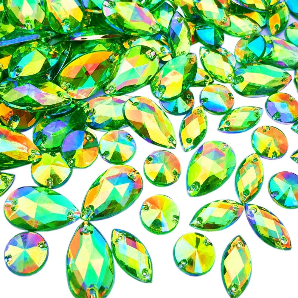 10 Pale Yellow 10mm Flower Rhinestones Gems Flat Back Sew On Bead