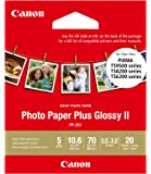"CanonInk PP-301-3.5"" x 3.5"" Square Photo Paper Plus Glossy II (1432C053)"