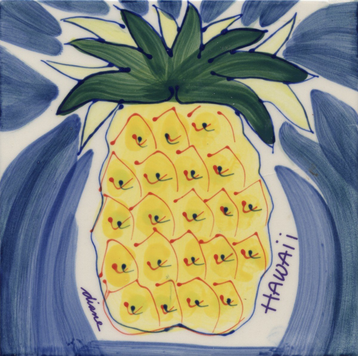 Amazon.com: Hawaii Tropical Decorative Tile or Trivet by Diane ...