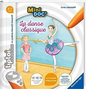 Ravensburger Tiptoi Mini Doc La Danse Classique Premier Age 4005556000395 Amazon Fr Jeux Et Jouets