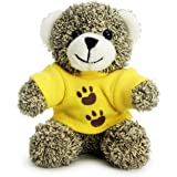 Bear of Allan Plush Keychain Stuffed Animal - Cute Dressed Small Teddy Bear Keyring Charm Backpack Clip Handbag Pendant Super