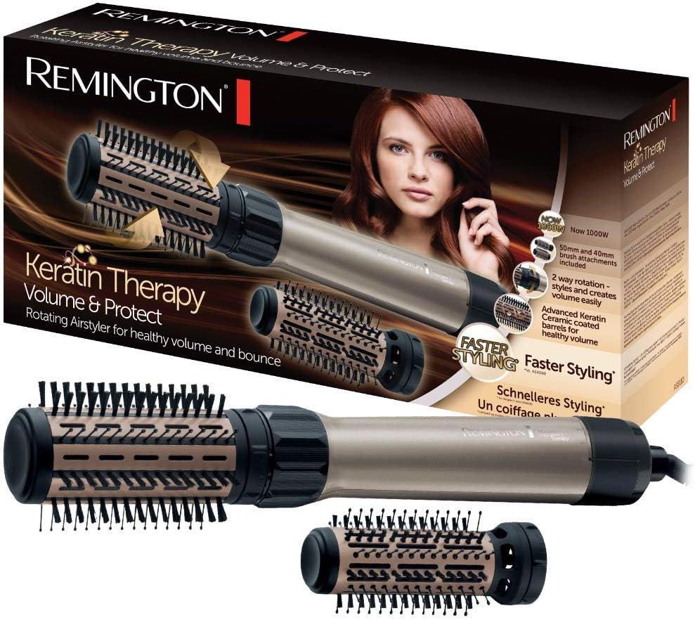 Remington AS8110 Keratin Therapy Protect & Volume - Moldeador con queratina, 1000 W, cerámica avanzada, ráfaga aire frío: Amazon.es: Salud y cuidado personal