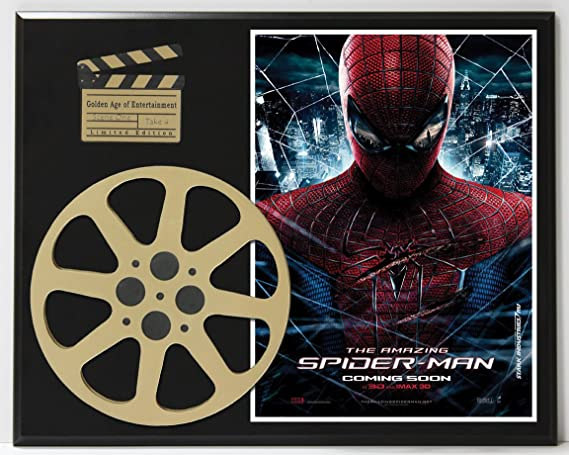 84e8da8c5f4 Amazing Spiderman Emma Stone Andrew Garfield Limited Edition Movie ...