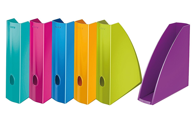 Leitz - Lote de de Lote 6 portarrevistas, diversos colores metalizados f757af