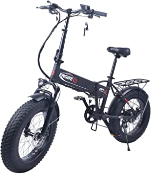 Amazon.com: ENGWE EP-2 Outlaw Fat Tire Electric Bike ...