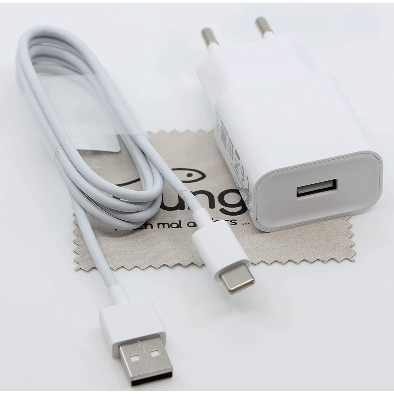 Cargador para Xiaomi MDY-08-EO Original 2 A 1 m para Xiaomi Pocophone F1 Fuente de alimentaci/ón con pa/ño mungoo Cable de Carga r/ápido Mi MAX 3 Mi 6 Mi 5 Mi Mix 2s Mi 8