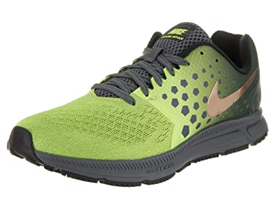 f7cb26b369b NIKE New Men s Air Zoom Span Shield Running Shoe Grey Volt 7.5