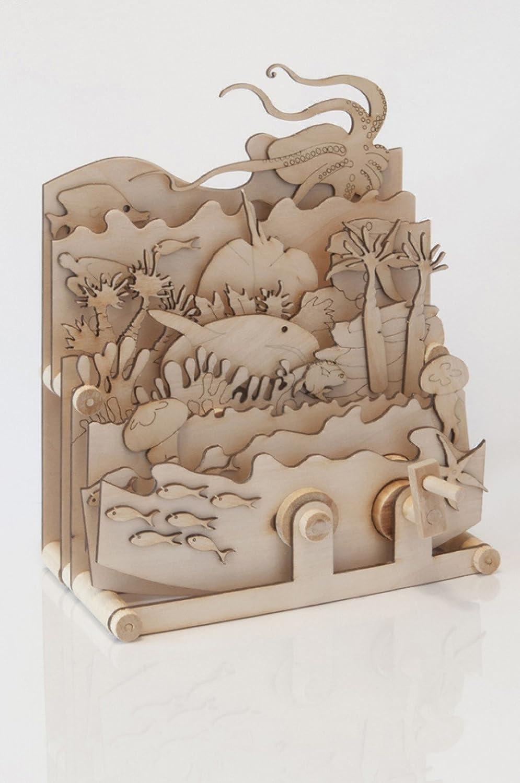 Ocean Motion - Timberkits Self-Assembly Ensemble de construction en bois modèle modèle