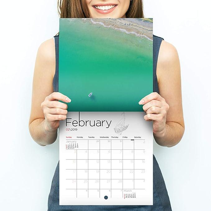 4 opinioni per Calendario con foto di paesaggi, calendario da parete 2018 con fotografie