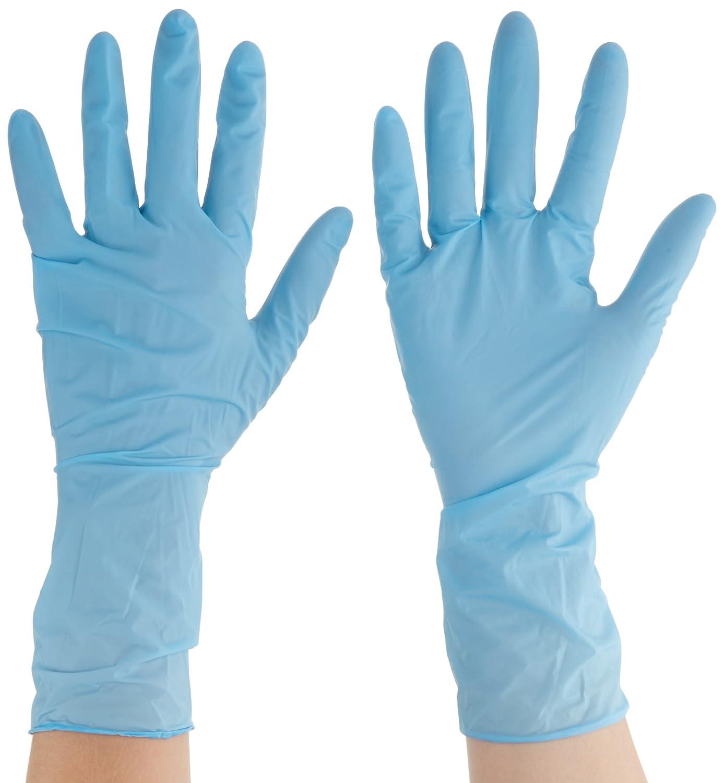 Protecci/ón contra productos qu/ímicos y l/íquidos Tama/ño 6.5-7 dispensador de 100 guantes Ansell 92-665//6.5-7 TouchNTuff Nitrilo guante Azul