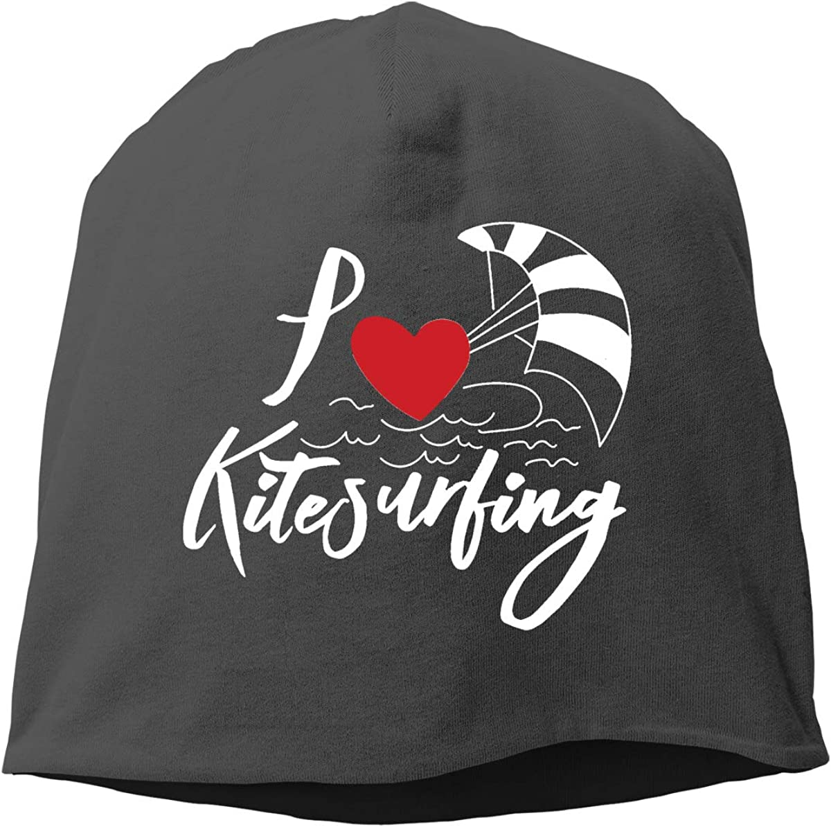 Love Kite Surfing Unisex Knitted Hat Beanie Hat Warm Hats Skull Cap Beanie Hat
