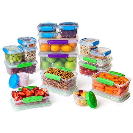 Lovely Sistema Food Storage Containers, 36 Piece Set