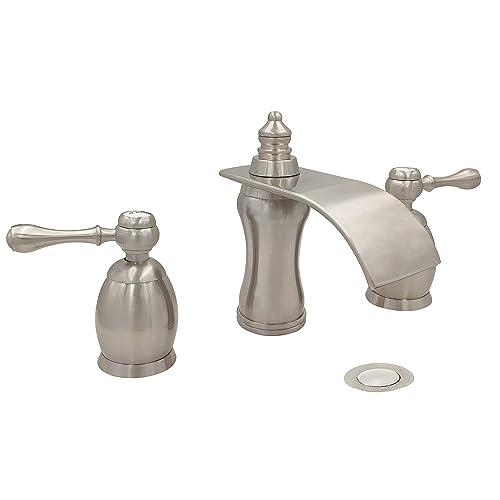 Widespread Waterfall Bathroom Faucets: Amazon.com
