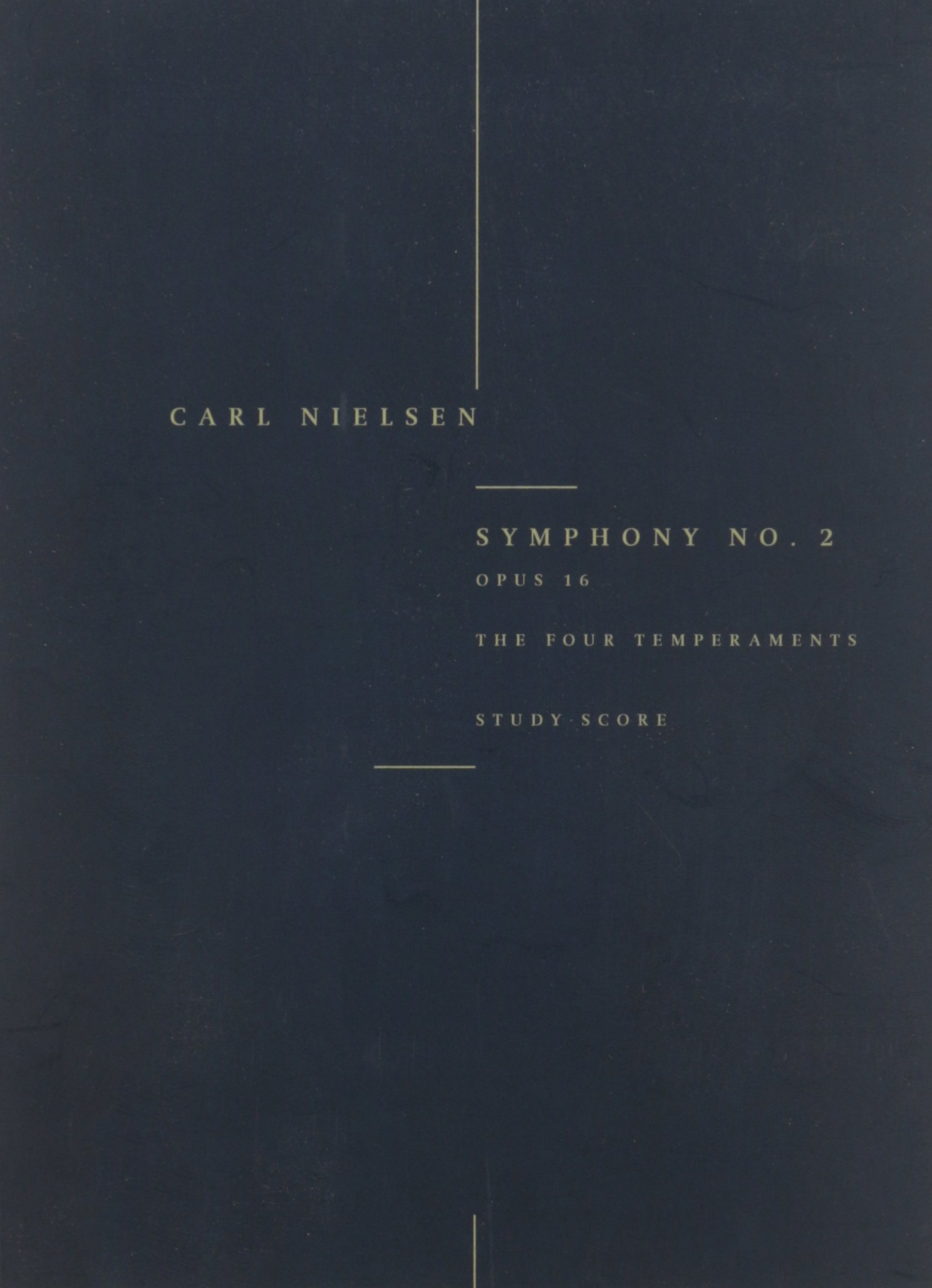Symphony No. 2, Op. 16 'The Four Temperaments': Study Score PDF
