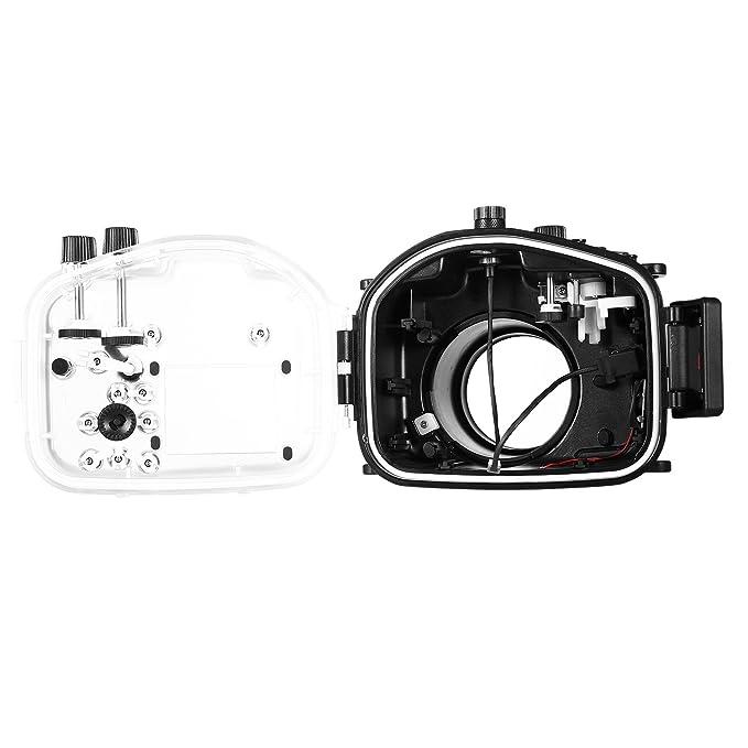 Amazon.com: Meikon - Carcasa para cámara de fotos de bajo el ...