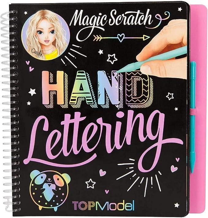 Topmodel Depesche 10903 handlettering para colorear libro