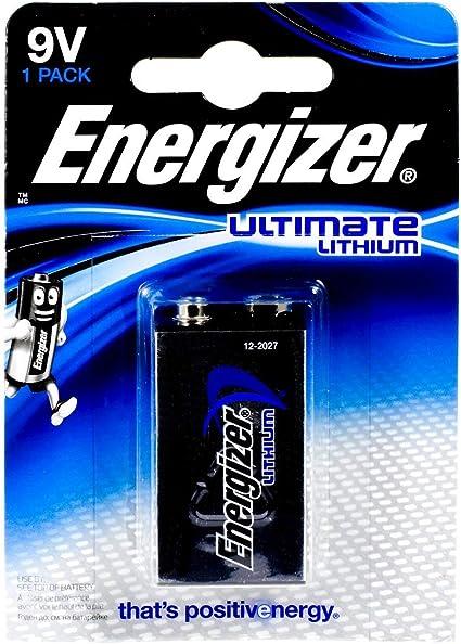 Energizer Ultimate Lithium Batterie 6lr61 9v Block Elektronik