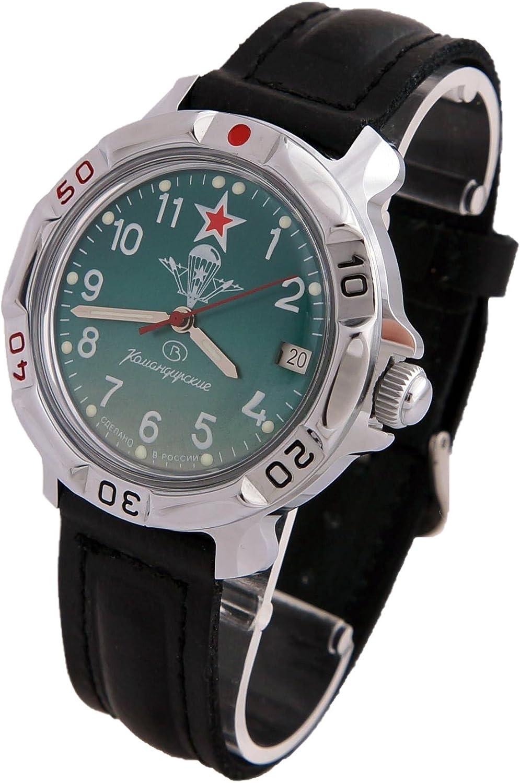 Vostok Komandirskie Military Russian Watch Paratrooper VDV 2414 811307